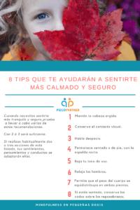 8 tips para sentirse en calma y con seguridad