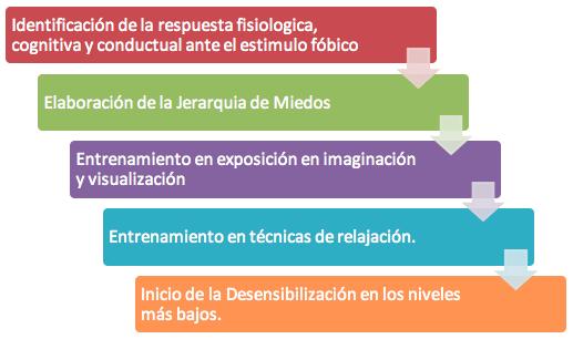 desensibilización sistemática en tratamiento de Fobias en Madrid